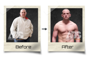 John Weldon - Before & After Weightloss Photo