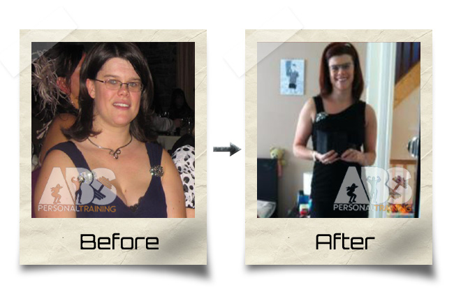 Before & After Photo - Female Client gets leaner & stronger