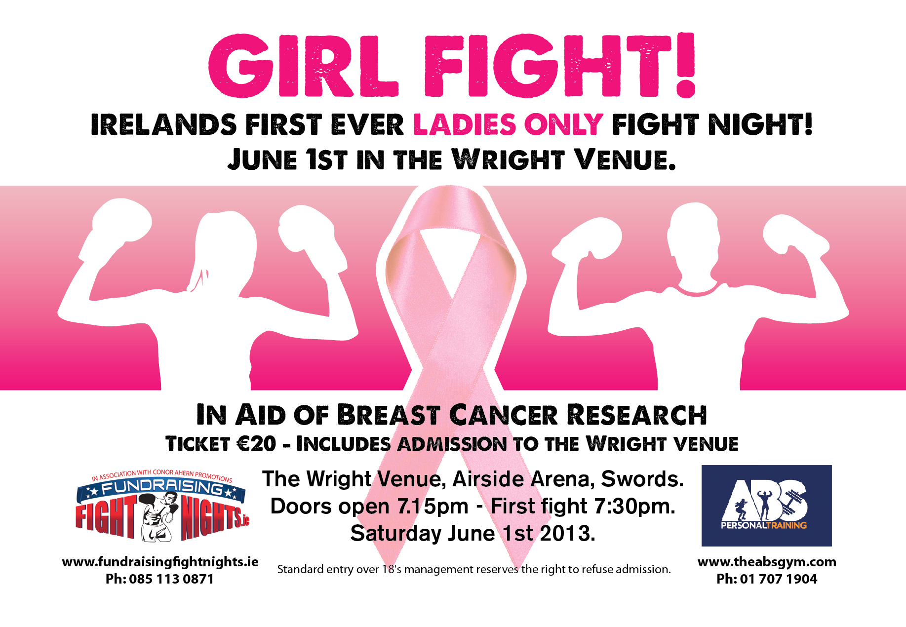 ladies white collar boxing