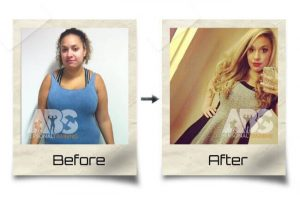 The Abs Gym - Before After Photo - Woman Lost Weight