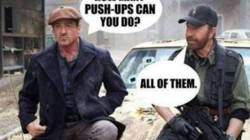 The ABS Gym - Personal Training - Dublin - Pushups Joke